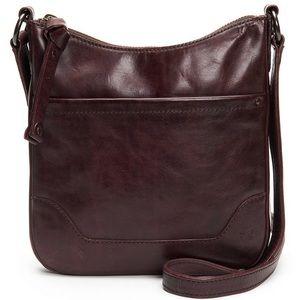 New Frye crossbody purse. Merlot color